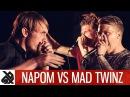 NAPOM vs MAD TWINZ | Fantasy Battle | World Beatbox Camp