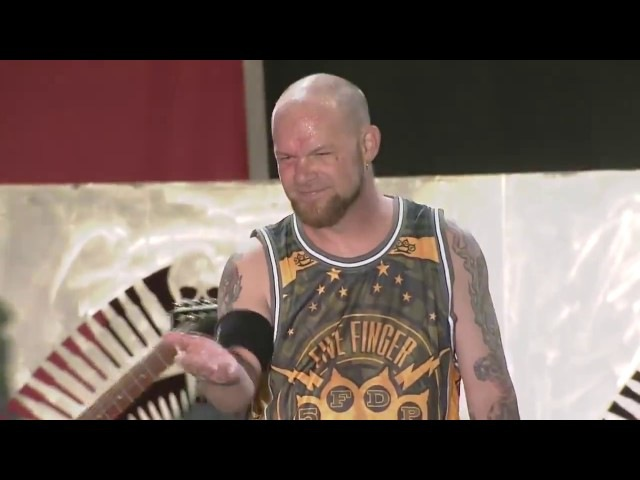Five Finger Death Punch - Jekyll And Hyde (Live at Carolina Rebellion 2016) (Pro Shot HD)