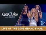 Charlotte Perrelli - Hero (Sweden) Live 2008 Eurovision Song Contest