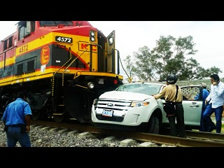 STUPID IDIOTS vs TRAIN - Stupid people doing stupid things, Retarded Drivers Fails on Level Crossing