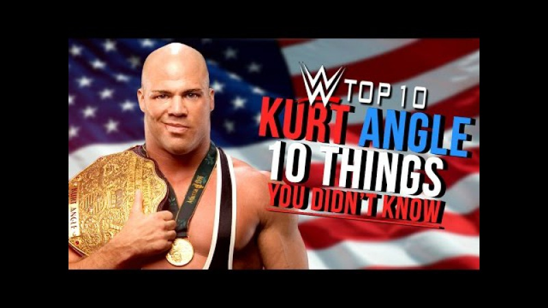 10 Things You Didn't Know About WWE Hall Of Famer Kurt Angle 🏅
