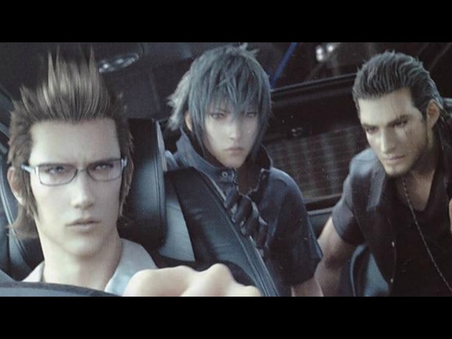 Final Fantasy XV (Versus XIII) All Deleted Scenes