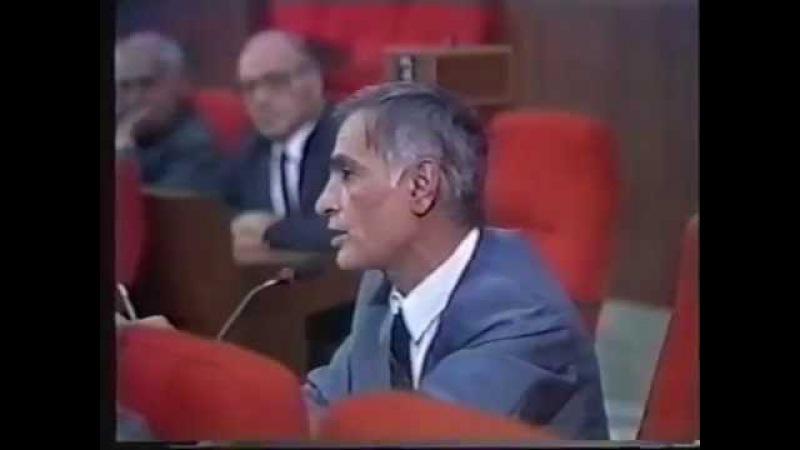 Rəhim Qazıyevin milli məclisdə tarixi çıxışı 1993
