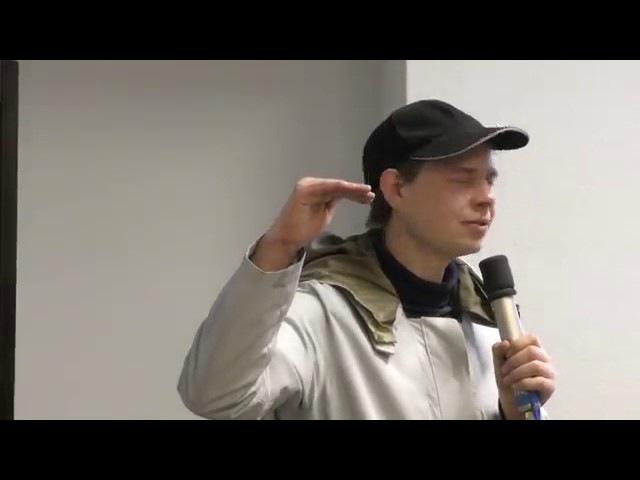 Sehr guter Vortrag von Ulrich Weiner Was ist das Ziel der Handytechnology
