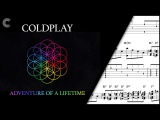 Tenor Sax - Adventure of a Lifetime - Coldplay - Sheet Music, Chords, Vocals