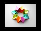 Оригами игрушка трансформер Калейдоскоп, салют, фейерверк