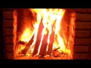 Горящий Камин / Живой Огонь / Burning Fireplace / Live Fire
