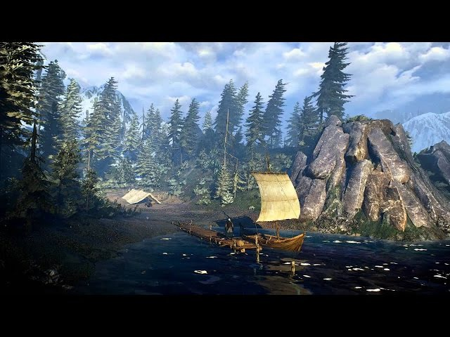 The Witcher 3: One hour of Emotional and Relaxing Music