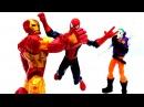 Человек Паук и #СУПЕРГЕРОИ: Джокер похитил костюм Железного Человека.  Игры для м...
