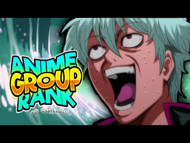 Top 100 Big Shounen Anime Openings (Group Rank)
