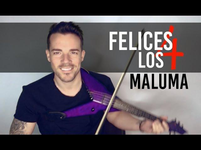 FELICES LOS 4 - MALUMA (Violin Cover by Robert Mendoza)