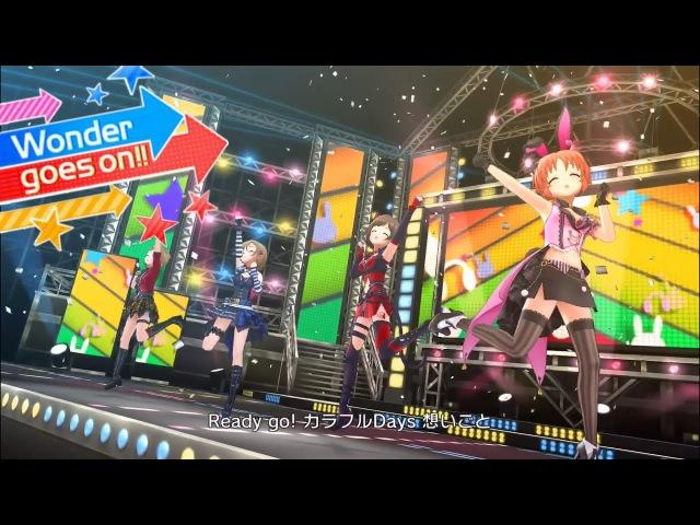 「デレステ」Wonder goes on Game ver 木村夏樹、多田李衣菜、前川みく、安部菜々 SSR
