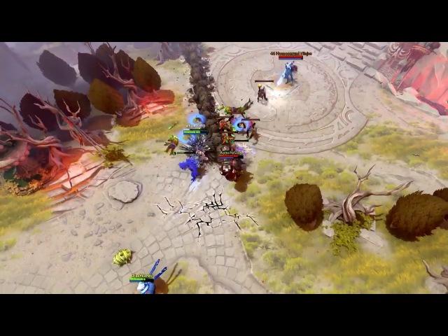 Dota 2 WTF Moments 211 Juggernaut Rampage
