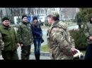 Награждение бойцов подразделения Сармат АТО, ЗСУ, ВСУ, Днепр-1