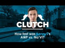 How fast was KennyS's AWP vs Na'Vi