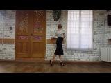 Karina Lilu Dovbush - Women`s  technique Tango. No me extra