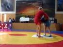 Борьба САМБО. схватка за 3 место Рыжов kerchnet