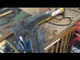 Нож из железнодорожного костыля