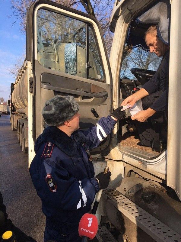 В текущем году на территории нашего региона возросло количество ДТП с участием грузового транспорта
