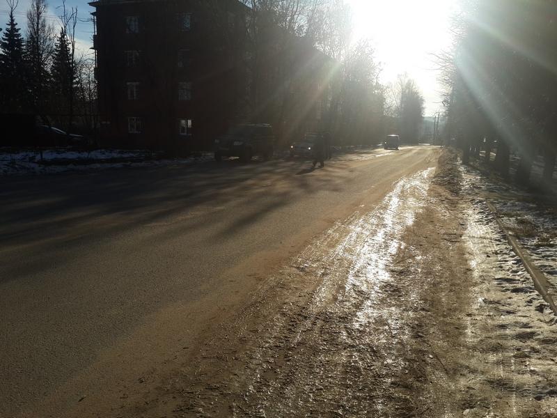 В результате ДТП пешеход получил телесные повреждения