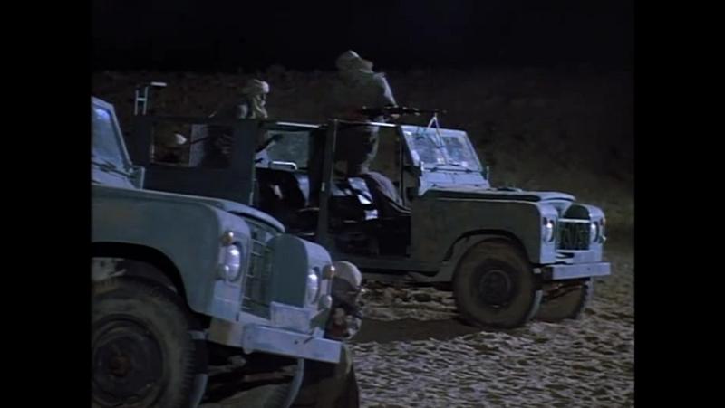 Нападение наёмников на лагерь зеральдов Принц пустыни