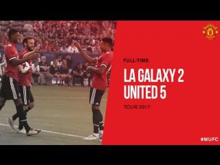 LA Galaxy vs Manchester United 2-5