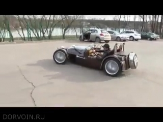 Самодельный спорткар Lotus Super
