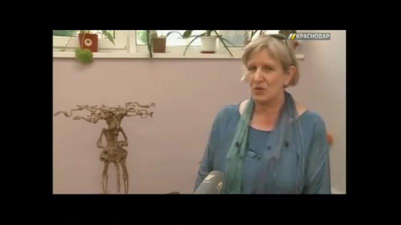 Делегация из Карлсруэ посетила детскую художественную школу в Краснодаре