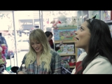 BLOOPERS: What Last Minute Christmas Shopping is Really Like (ft. Hilary Duff)