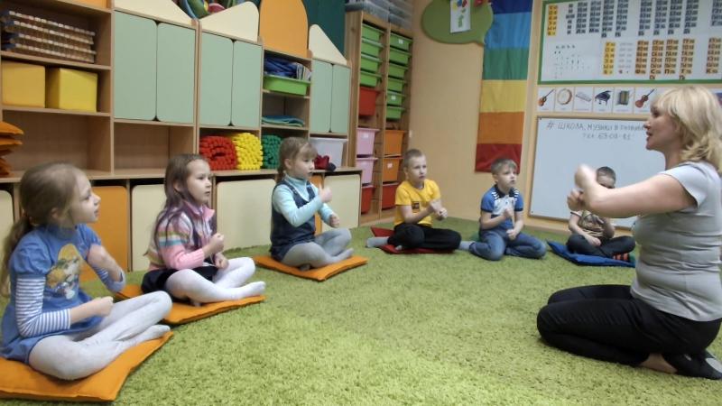 Урок Музыки у наших дошколят Музыкальное развитие детей с 9 мес. в Развивай-ке