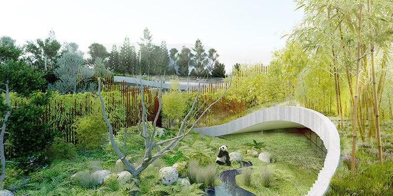Bjarke Ingels Group plans yin and yang-shaped panda house for Copenhagen zoo