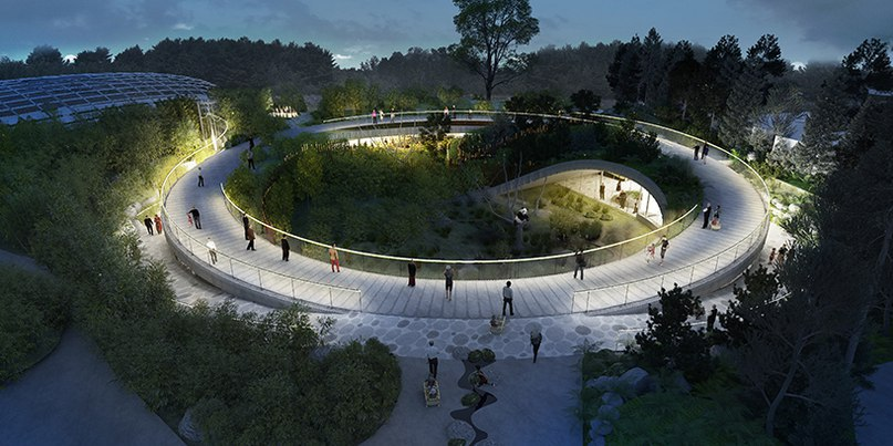 Bjarke Ingels Group plans yin and yang-shaped panda house for Copenhagen zoo
