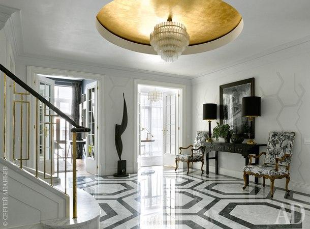Двухэтажная квартира в Москве, 250 м²