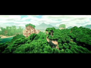 BLUR - Minecraft Cinematic (w- Sonic Ethers Shaders Water Shader Real Clouds Mountain Map)