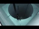Погружение на 40 метровую глубину бассейна
