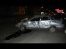 В жуткой аварии сильно пострадал молодой парень