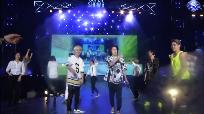 Super Junior (슈퍼주니어) - Lets Dance (remix) [Super Show 6 (SS6) In Japan, Tokyo] (рус.саб)
