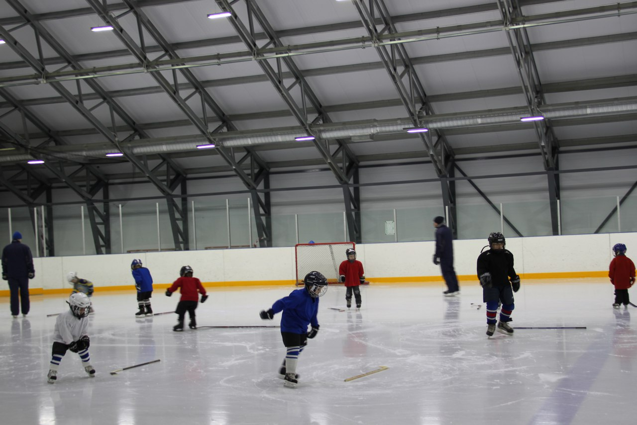 Ледовая арена Купчино. Наши будущие надежды Мирового хоккея!
