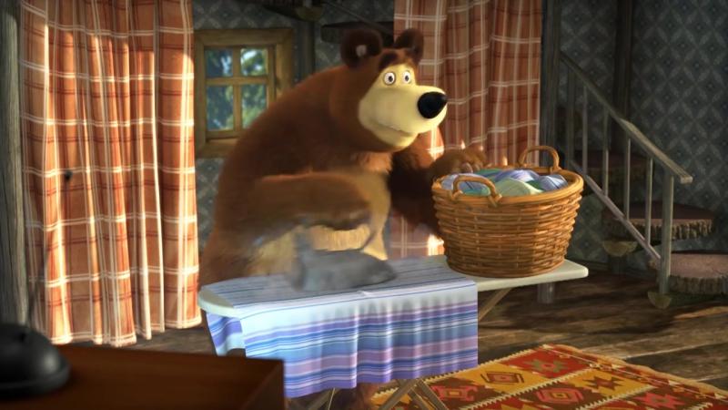 Маша и Медведь - Мишка на кухне (2017) | Продолжение в описании!