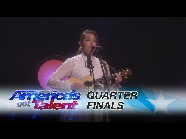 Mandy Harvey Deaf Singer Performs Original Mara's Song America's Got Talent 2017