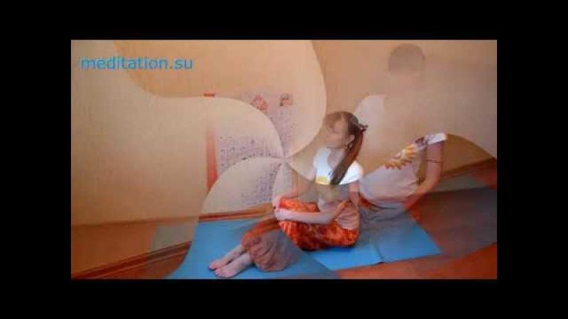 Ананда йога - готовим тело к медитации