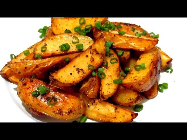 как в духовке приготовить картофель по деревенски в духовке