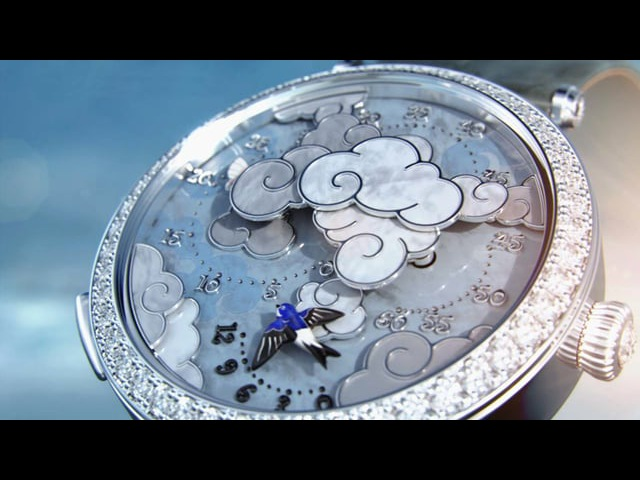 Van Cleef Arpels - Lady Arpels, Ronde des Papillons watch.