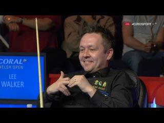 Lee Walker FLUKE v Neil Robertson Welsh Open 2017