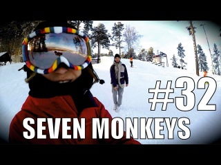 Сноуборд контест глазами девушки. Жесть в Маке. Побрейся налысо. #32 7M