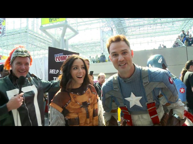 Clark, Chloe, and Gabriel Undercover at Comic-Con - Marvels Agents of S.H.I.E.L.D.