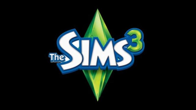 Стартовий дім. Sims 3. Без доповнень.