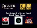 Black Eyed Peace - Don't phunk with my heart Den Parfeev drum cover