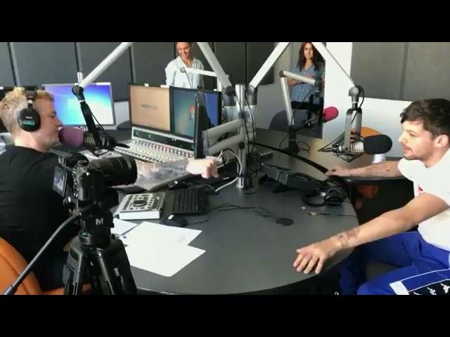 Луи и ДжоДжо на KISS FM