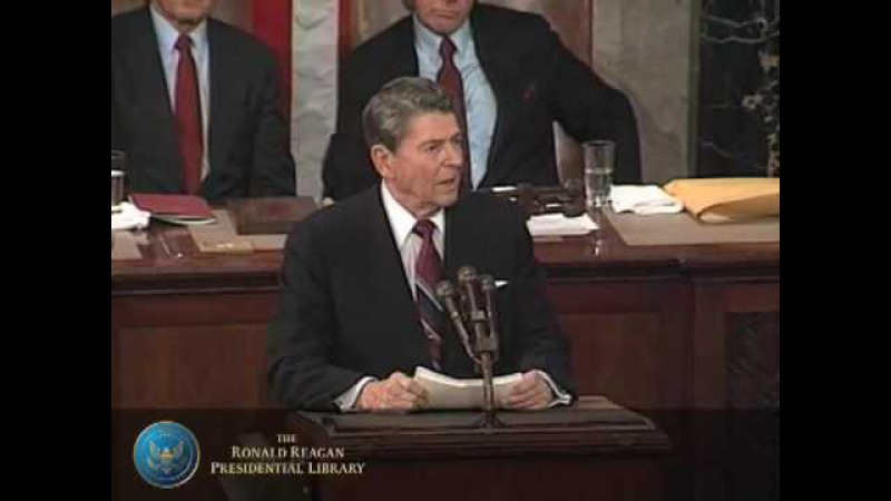Доклад Президента США Рональда Рейгана о положении дел в Союзе. 25 января 1988 года.